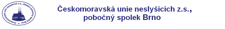 logo Česká unie neslyšících